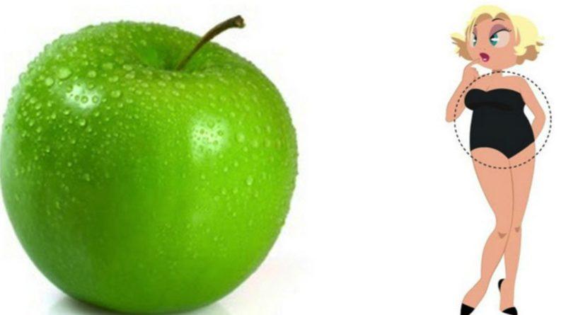 фигура яблоко