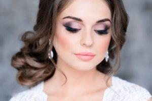 Свадебный макияж для цветотипа зима