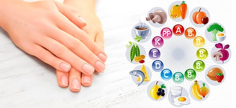 в каких продуктах витамины для ногтей