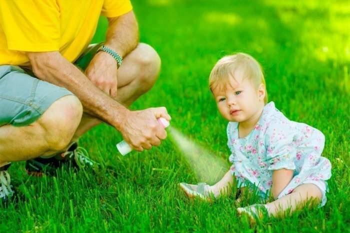 Какие бывают средства от комаров для детей