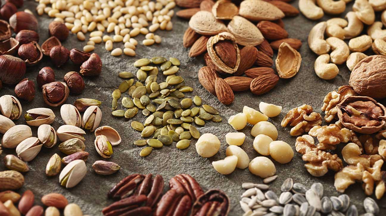 Продукты для очищения организма - орехи