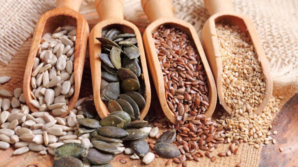 Продукты для очищения организма - семена