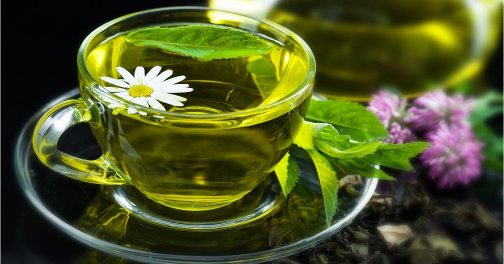 Продукты для очищения организма - зеленый чай
