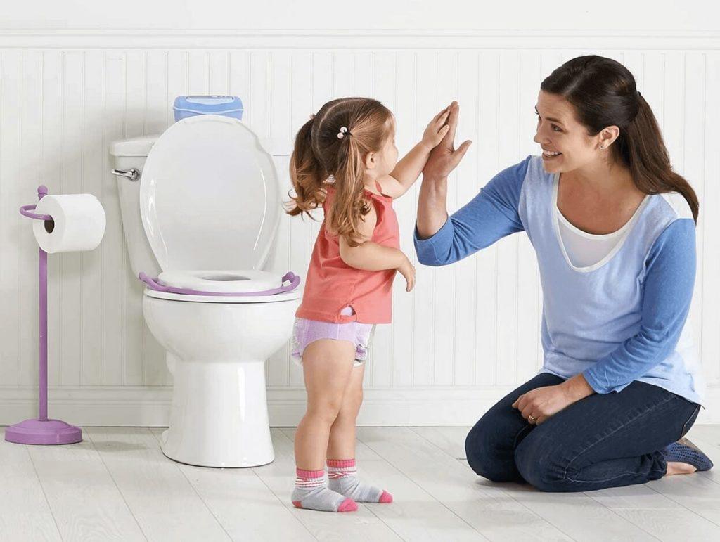 учим ребенка Пользоваться туалетом