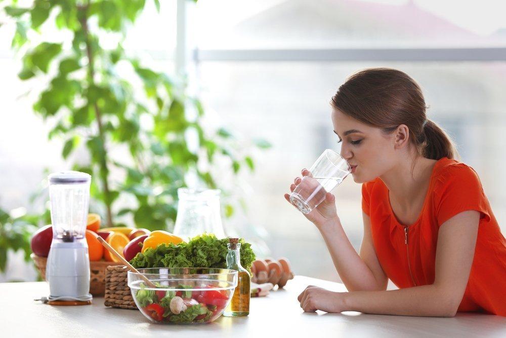 Плохое питание и недостаток воды