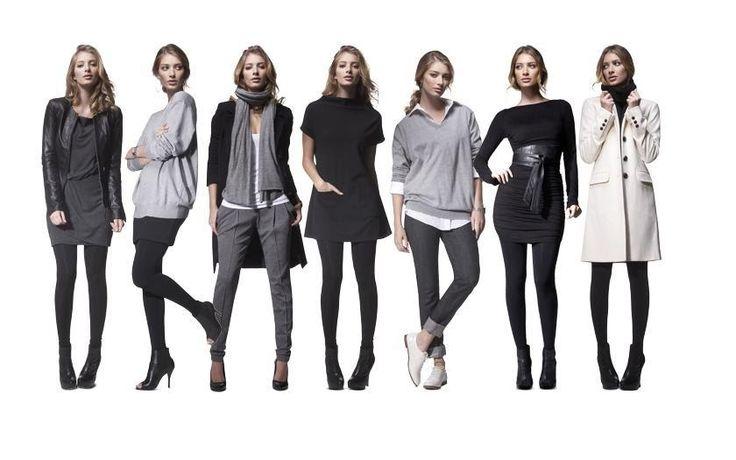 Осенний базовый гардероб для девушки 30 лет
