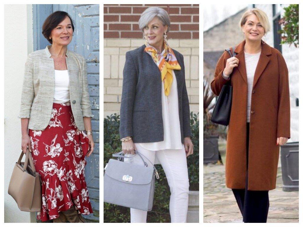 Осенний базовый гардероб для женщин 50+