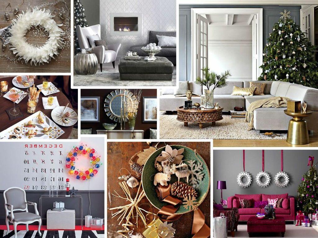 Выбор стиля и варианты новогоднего декора