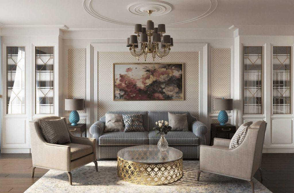 диван в стиле классицизм