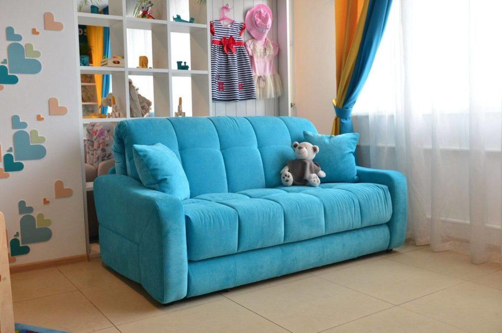 цвет дивана для детской