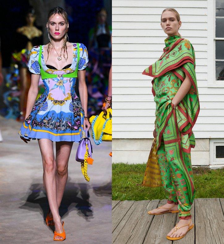 модный принт весна-лето 21 гобеленовый принт