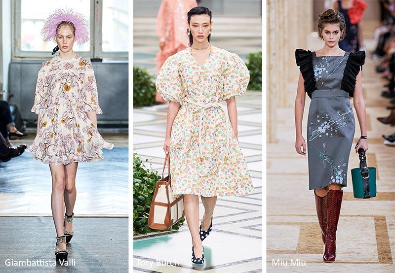 модные цветочные принты весна-лето 21